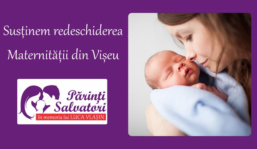 Susținem REDESCHIDEREA MATERNITĂȚII din Vișeu de Sus