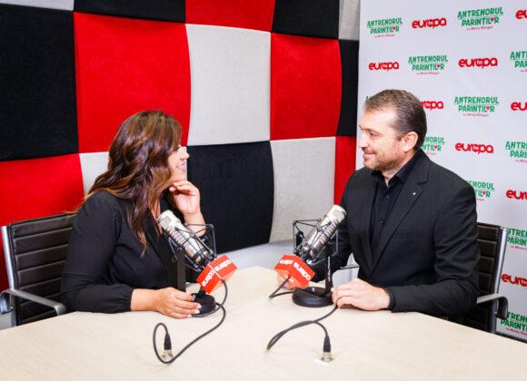 Vasile Vlașin, invitat în studioul Europa FM la Antrenorul Părinților
